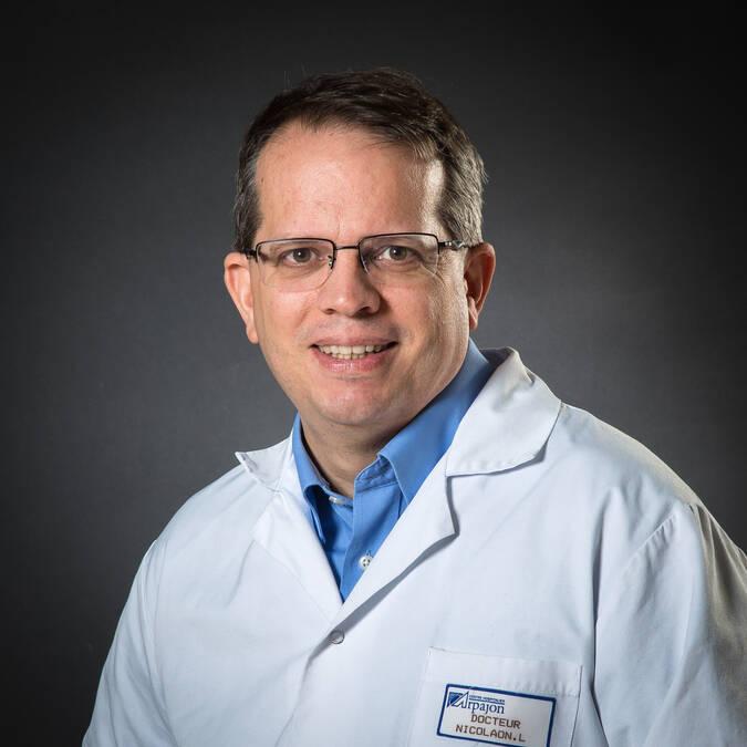 M. le Dr NICOLAON Laurent - Chef de service