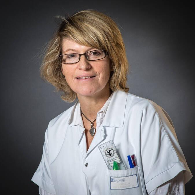 Mme le Dr Patricia VILLENEUVE - Chef de pôle Radiologie