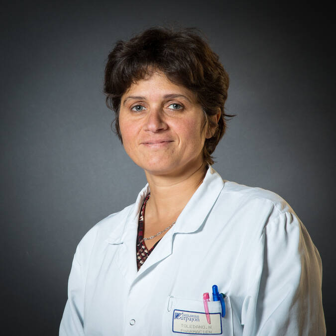 Mme Nathalie TOLEDANO - Pharmacien