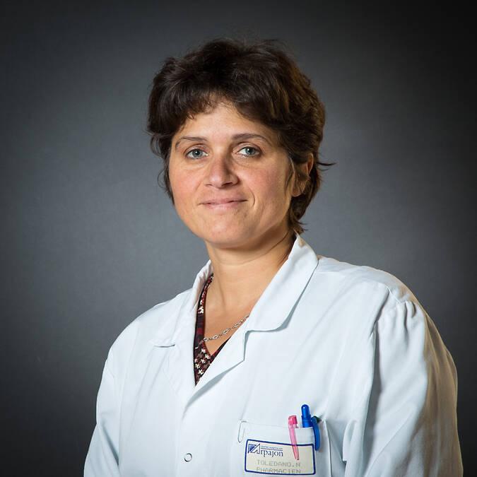 Dr Nathalie TOLEDANO - Pharmacien - Praticien  hygiéniste responsable de service