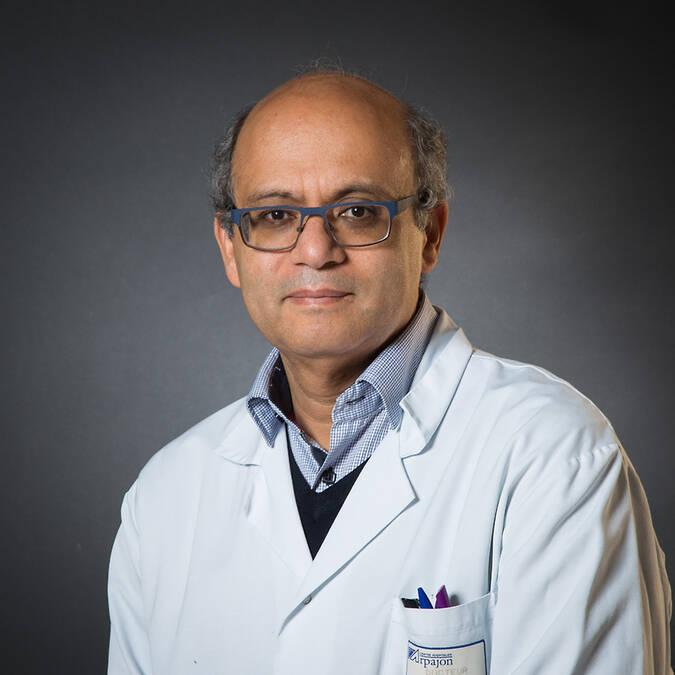 M. le Dr Achraf ROBIN - Chef de pôle Chirurgie